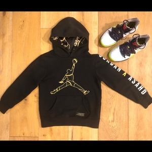 Nike Air Jordan X Asahd golden rule hoodie S